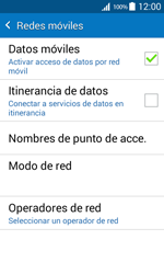 Samsung Galaxy Core Prime - Red - Seleccionar una red - Paso 6