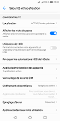 Huawei Y5 (2018) - Sécuriser votre mobile - Personnaliser le code PIN de votre carte SIM - Étape 4