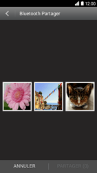Bouygues Telecom Ultym 5 - Photos, vidéos, musique - Envoyer une photo via Bluetooth - Étape 6
