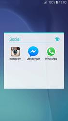 Samsung Galaxy S6 - Aplicações - Como configurar o WhatsApp -  5