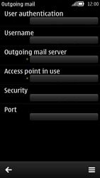 Nokia 808 PureView - E-mail - Manual configuration - Step 14