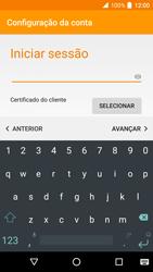 Alcatel Idol 4 VR - Email - Adicionar conta de email -  9