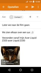 Acer Liquid Z330 - E-mail - Hoe te versturen - Stap 16