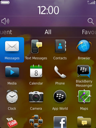 BlackBerry 9810 Torch - E-mail - Sending emails - Step 3