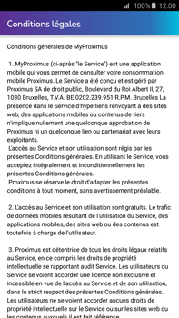 Samsung Galaxy S6 edge+ - Applications - MyProximus - Étape 11