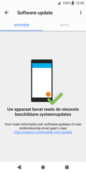 Sony Xperia XZ2 (H8216) - Software updaten - Update installeren - Stap 6