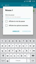 Samsung J500F Galaxy J5 - Wifi - configuration manuelle - Étape 6