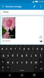 HTC Desire 816 - Contact, Appels, SMS/MMS - Envoyer un MMS - Étape 18