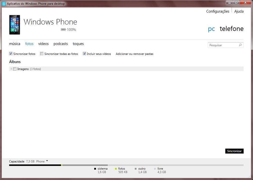 Nokia Lumia 1020 - Conexão com pc - Como transferir arquivos do computador para seu aparelho - Etapa 5