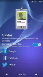 Sony Xperia M2 - Primeiros passos - Como ligar o telemóvel pela primeira vez -  8
