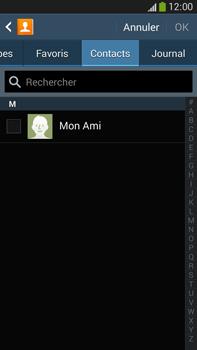 Samsung Galaxy Note 3 - Contact, Appels, SMS/MMS - Envoyer un SMS - Étape 6