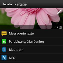 BlackBerry Q10 - Photos, vidéos, musique - Envoyer une photo via Bluetooth - Étape 9