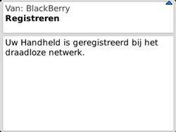 BlackBerry 9320 Curve - Instellingen - configuratiebericht ontvangen - Stap 12