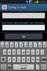 Samsung S6293T Galaxy Young Plus - Email - Como configurar seu celular para receber e enviar e-mails - Etapa 20