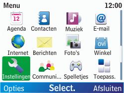 Nokia C3-00 - Internet - handmatig instellen - Stap 3
