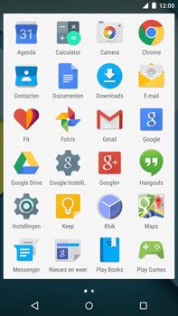 Google Nexus 6 - MMS - hoe te versturen - Stap 2