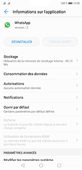 Huawei P20 pro - Applications - Supprimer une application - Étape 6