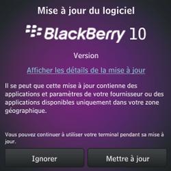 BlackBerry Q10 - Premiers pas - Créer un compte - Étape 18