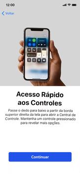 Apple iPhone XR - Primeiros passos - Como ativar seu aparelho - Etapa 33