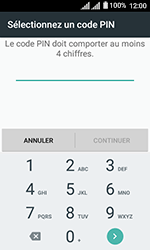 Alcatel U3 - Sécuriser votre mobile - Activer le code de verrouillage - Étape 7