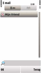 Nokia 5230 - E-mail - hoe te versturen - Stap 9
