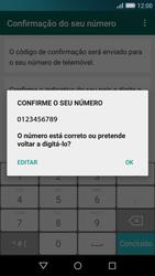 Huawei P8 Lite - Aplicações - Como configurar o WhatsApp -  7