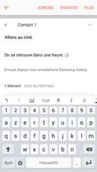 Samsung Samsung G920 Galaxy S6 (Android M) - E-mail - Envoi d