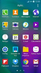 Samsung Galaxy A5 - Email - Como configurar seu celular para receber e enviar e-mails - Etapa 3