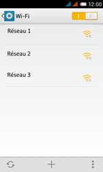 Alcatel OT-4033X Pop C3 - Wifi - configuration manuelle - Étape 5