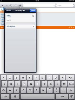 Apple iPad 2 - Internet - internetten - Stap 10