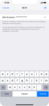 Apple iPhone XS Max - Internet - comment configurer un point d'accès mobile - Étape 5