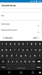 BlackBerry DTEK 50 - Email - Manual configuration - Step 20