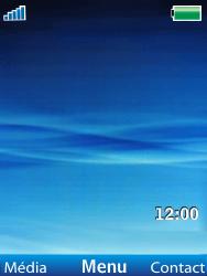 Sony Ericsson W100i Spiro - Mms - Configuration manuelle - Étape 1