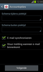 Samsung I8190 Galaxy S III Mini - E-mail - Account instellen (POP3 met SMTP-verificatie) - Stap 15