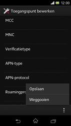 Sony C1905 Xperia M - Internet - handmatig instellen - Stap 17