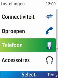 Nokia X2-00 - Bellen - in het buitenland - Stap 4