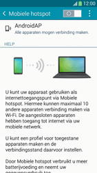 Samsung I9195i Galaxy S4 mini VE - WiFi - Mobiele hotspot instellen - Stap 10