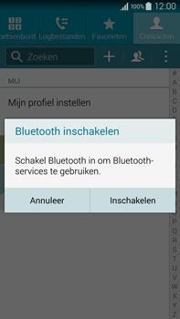 Samsung N910F Galaxy Note 4 - Contactgegevens overzetten - delen via Bluetooth - Stap 9