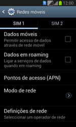 Samsung Galaxy Fresh Duos - Internet no telemóvel - Como configurar ligação à internet -  6