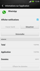 HTC One - Applications - Supprimer une application - Étape 6