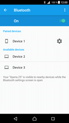 Sony Xperia Z5 - Android Nougat - WiFi and Bluetooth - Setup Bluetooth Pairing - Step 8