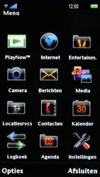 Sony Ericsson U1i Satio - E-mail - Hoe te versturen - Stap 3