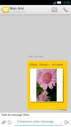 Bouygues Telecom Ultym 4 - Contact, Appels, SMS/MMS - Envoyer un MMS - Étape 18