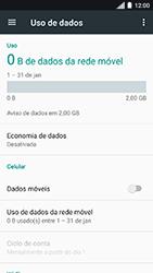 Motorola Moto C Plus - Rede móvel - Como ativar e desativar uma rede de dados - Etapa 6