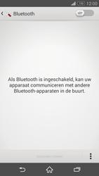 Sony Xperia Z3 4G (D6603) - Bluetooth - Aanzetten - Stap 4