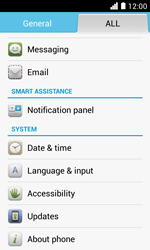 Huawei Ascend Y330 - Network - Installing software updates - Step 5