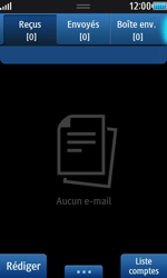 Samsung S8530 Wave II - E-mail - envoyer un e-mail - Étape 3