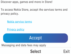 Nokia Asha 210 - Applications - Downloading applications - Step 5