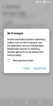 LG Q6 (LG M700n) - WiFi - Mobiele hotspot instellen - Stap 9