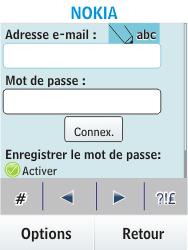 Nokia Asha 300 - E-mail - Configuration manuelle - Étape 5